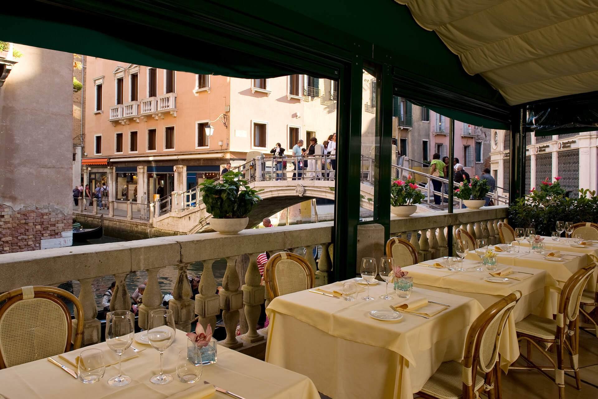 Traditionelle Restaurant in Venedig | Restaurant La Terrazza Venedig